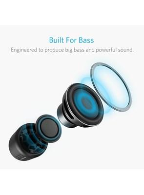 ANKER - Caixa de Som Portátil Black 5W - Bluetooth