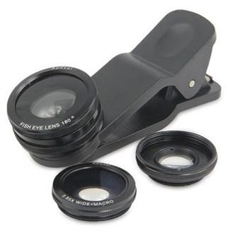 APEXEL - Kit de Lentes para Fotografias com Celulares