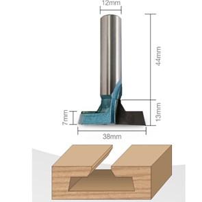 CTPOHR - STRONG - Fresa Canaleta com diâmetro 38 mm e haste de 1/2 polegada (12 mm)