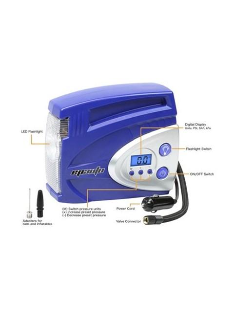 EPAUTO - Mini Compressor Digital - 100 PSI