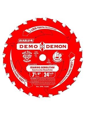 FREUD DIABLO - DISCO DE SERRA - 24 DENTES - 7,25 POLEG. 184MM- D0724DPX