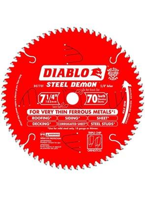FREUD DIABLO - DISCO DE SERRA PARA METAL - 70 DENTES - D0770F