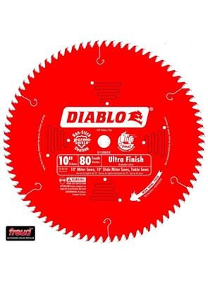 FREUD DIABLO - DISCO DE SERRA PARA USO GERAL - 80 DENTES - 10 POLEG. - D1080X