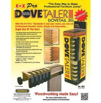 General Tools - Dovetailer II - Jig para Rabo de Andorinha