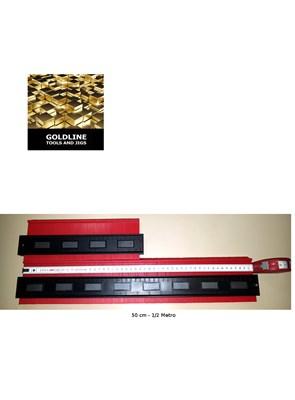 GOLDLINE - COPIADOR DE CONTORNOS, COM TRAVAS OU MAGNETOS - 25 ou 50 cm