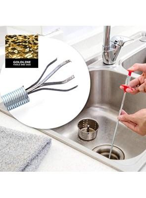 GOLDLINE - DRAIN CLEANER - DESENTUPIDOR FLEXÍVEL DE DRENOS E RALOS