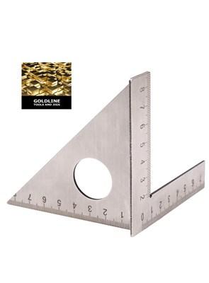 GOLDLINE - ESQUADRO 3D MITER INOX