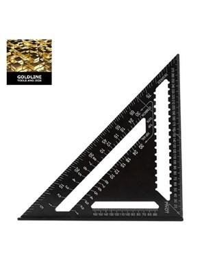 GOLDLINE - ESQUADRO TRIÂNGULO 43 x 30 x 30 cm