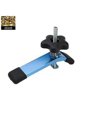 GOLDLINE - GRAMPO PARA T-TRACK EM ALUMÍNIO BLUE - 19MM