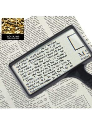 GOLDLINE - LUPA COM VISOR GRANDE - 5 X