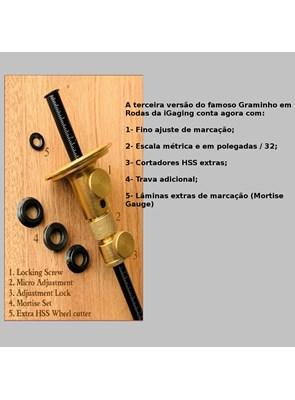 iGAGING - GRAMINHO EM RODAS -  3ª Geração - 34-711