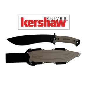 KERSHAW - FACA CAMP 10 TAN FULL TANG KNIFE 1077