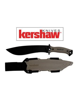 KERSHAW - FACA CAMP 10 TAN FULL TANG KNIFE 1077