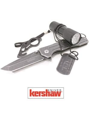KERSHAW - KIT TÁTICO E ESPORTIVO COM 4 ITENS - KS1304B