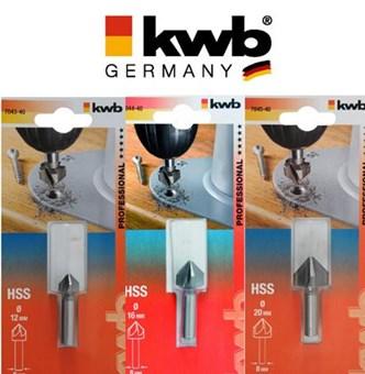 KWB - BROCAS ESCAREADORAS PARA METAIS - 704340 - 704440 - 704540