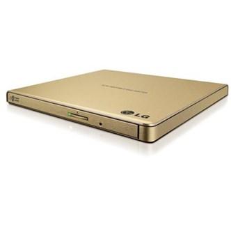 LG - Super Multi Ultra Slim Portátil Gravador  Leitor DVD CD