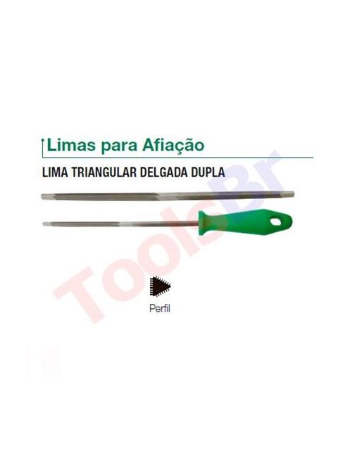 LIMA NICHOLSON TRIANGULAR DELGADA DUPLA 8