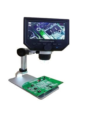MICROSCÓPIO DIGITAL - HD LCD - 600 X - 3.6 MP