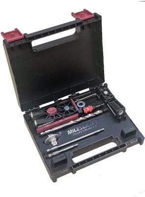 MILESCRAFT - COMBO POCKET HOLE JIG 200XCJ COM GRAMPO DE 2 POLEG.