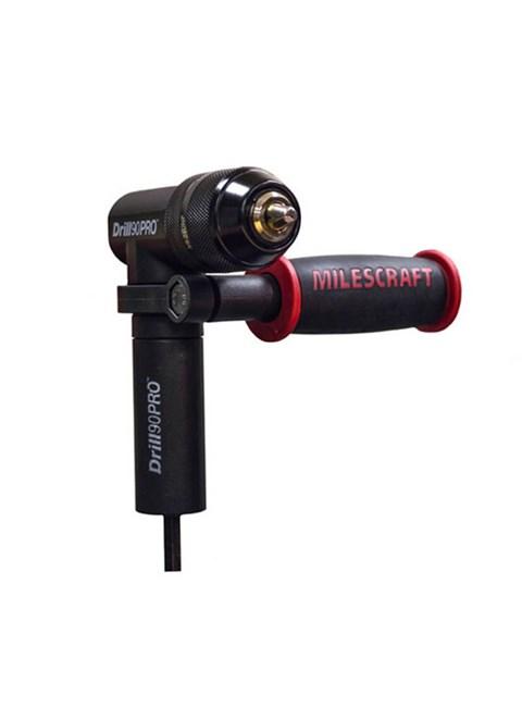 MILESCRAFT - DRILL90PRO - GUIA ANGULAR 90 GRAUS - DE IMPACTO - PROFISSIONAL