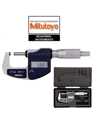 Mitutoyo - Micrômetro Externo Digital 0-25mm (0,001mm) MDC-Lite