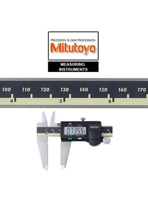 MITUTOYO - PAQUÍMETRO DIGITAL ABSOLUTE-AOS 500-172-30B - 200MM-8 - RESOLUÇÃO 0,01MM - COM SAÍDA SPC