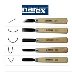 Narex - Conjunto de Formões para Entalhe - 869200