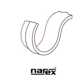 NAREX - FORMÃO GANCHO ESQUERDO PARA ESCULPIR - 822102 - PROFISSIONAL