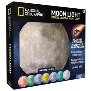 National Geographic - Globo Lunar com 7 cores e Timer