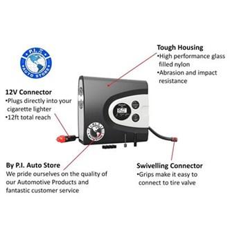PI Auto - Mini Compressor Digital Premium - 150 PSI
