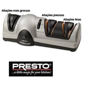 PRESTO - AFIADOR ELÉTRICO DE FACAS - PROFISSIONAL