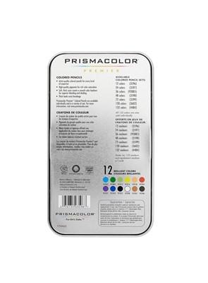 PRISMACOLOR - 12 LÁPIS COLORIDOS - PREMIER - SOFT CORE