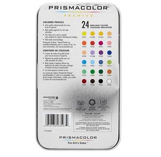PRISMACOLOR - 24 LÁPIS COLORIDOS - PREMIER - SOFT CORE