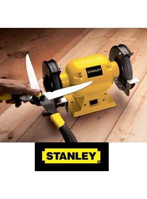 """STANLEY - MOTO ESMERIL DE BANCADA 1/2 HP PARA REBOLO DE 6"""" x 5/8"""" - STGB3715"""