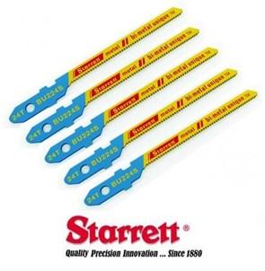 Starrett - Kit de Lâminas de Serra Tico-Tico 50MM (5 PEÇAS) - BU224S