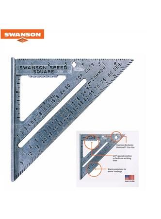 SWANSON - ESQUADRO 7 POLEGADAS COM BLUE BOOK E NIVEL TORPEDO
