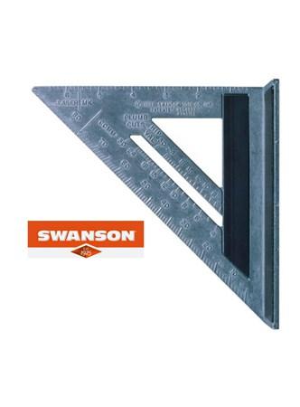 SWANSON - ESQUADRO MAGNÉTICO - 7 POLEG. - COM 5 FUNÇÕES