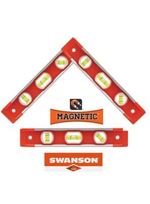 SWANSON - NIVEL TORPEDO MAGNÉTICO - 9 POLEG.