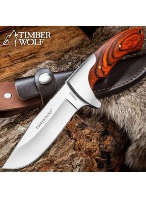 TIMBER WOLF - FACA BLAZIN BOWIE - TW13