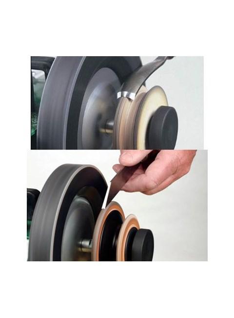 TORMEK - Profiled Leather Honing Wheel - LA-120