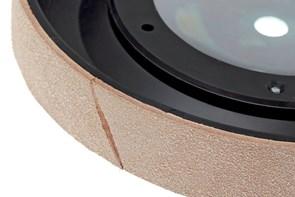 TORMEK - Profiled Leather Honing Wheel - LA-220