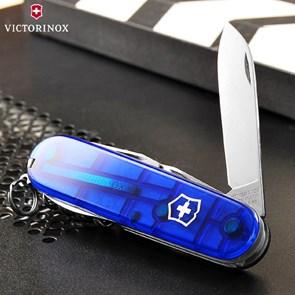 VICTORINOX - CANIVETE Spartan Azul Translúcido 12 Funções