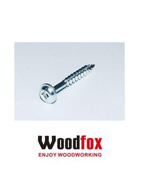 WOODFOX - PARAFUSOS PARA POCKET  HOLE - 1.000 UNIDADES