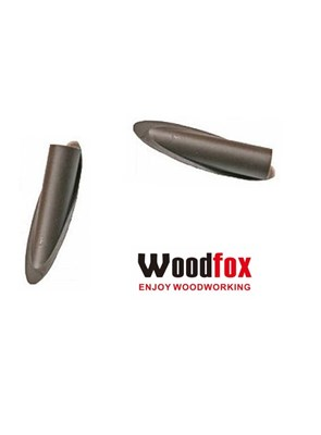 WOODFOX - POCKET HOLE PLUG BROWN  - TAPA FURO MARROM