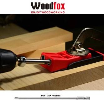 WOODFOX - POCKET JIG DUPLO - GABARITO PARA FURAÇÃO