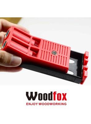 WOODFOX - POCKET JIG DUPLO - GABARITO PARA FURAÇÃO COM PONTEIRA PHILLIPS PH2