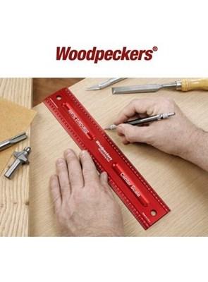Woodpeckers - Régua em Alumínio - 12 poleg.