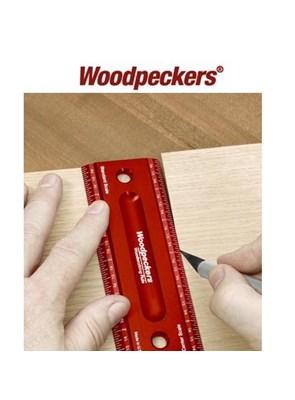 Woodpeckers - Régua em Alumínio - 6 poleg