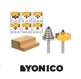 YONICO - FRESA COM 6 ROLAMENTOS